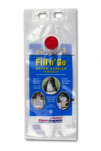 1 Gallon Emergency Water Carrier by Ready America